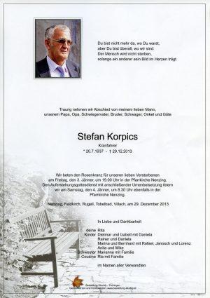 Portrait von Korpics Stefan