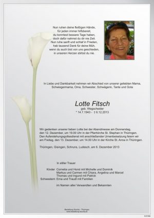 Portrait von Fitsch Lotte