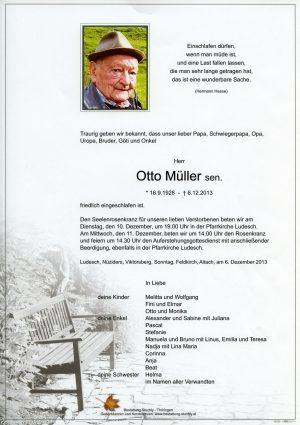 Portrait von Müller Otto
