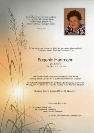 Portrait von Hartmann Eugenie