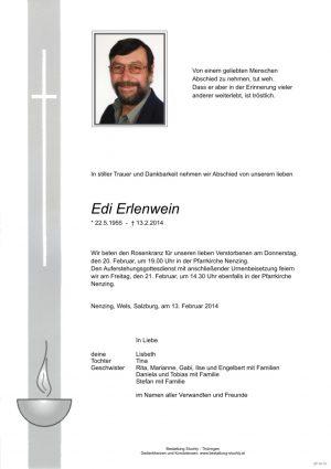Portrait von Erlenwein Edi