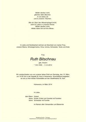Portrait von Bitschnau Ruth