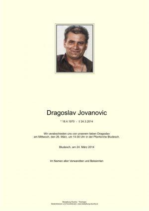Portrait von Jovanovic Dragoslav