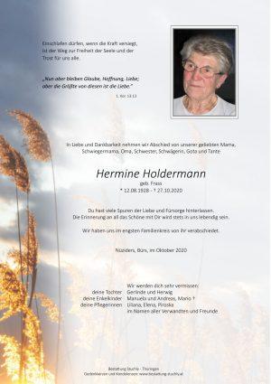 Portrait von Hermine Holdermann