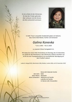 Portrait von Galina Konevka