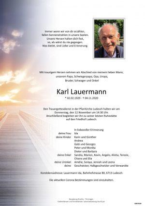 Portrait von Karl Lauermann